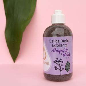 Gel de ducha Maqui y Uvas exfoliante